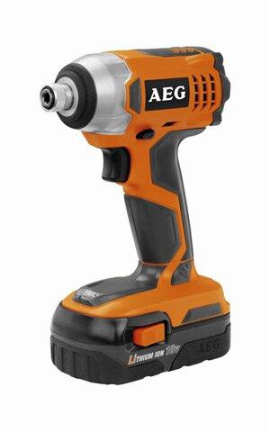 Аккумуляторный гайковерт AEG  BSS18C Li 1.5 ( 411942)