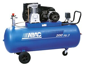 Ременной двухступенчатый компрессор Abac B 5900B / 200 CT 5,5