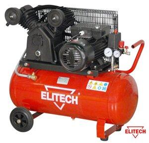 Компрессор масляный с ременным приводом ELITECH КР 2051/100/2,2
