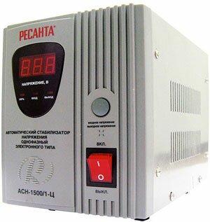 Стабилизатор напряжения РЕСАНТА АСН 1500/1-Ц