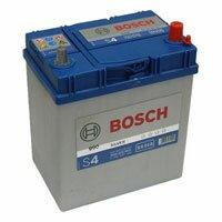 Аккумулятор автомобильный  Bosch Silver S4 018 0092S40180 40a/h обр.тонкие клемы
